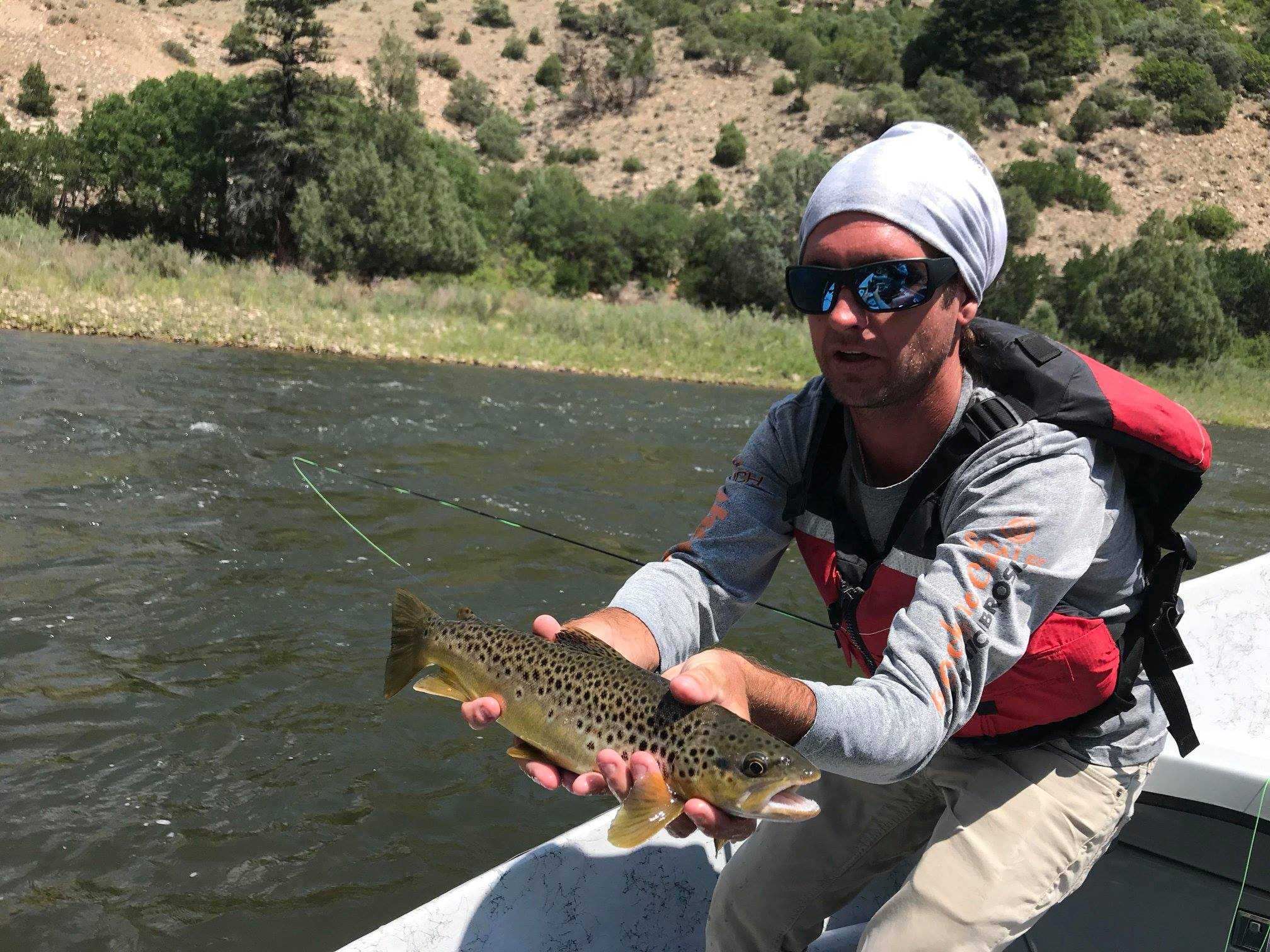 Trouts Fly Fishing   Colorado River - Kremmling to Catamount