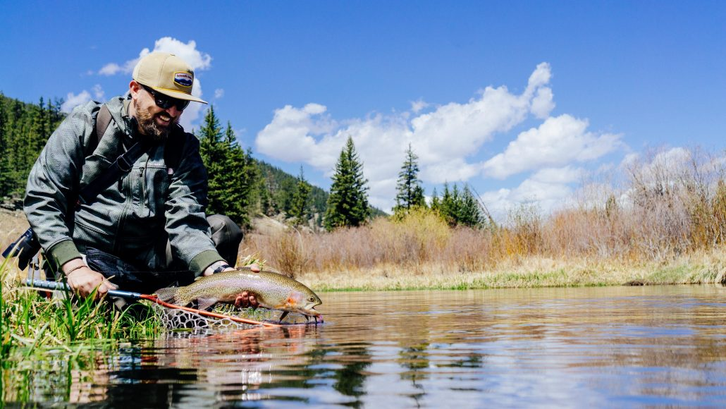 Trouts Fly Fishing Seven Tips For High Water Success