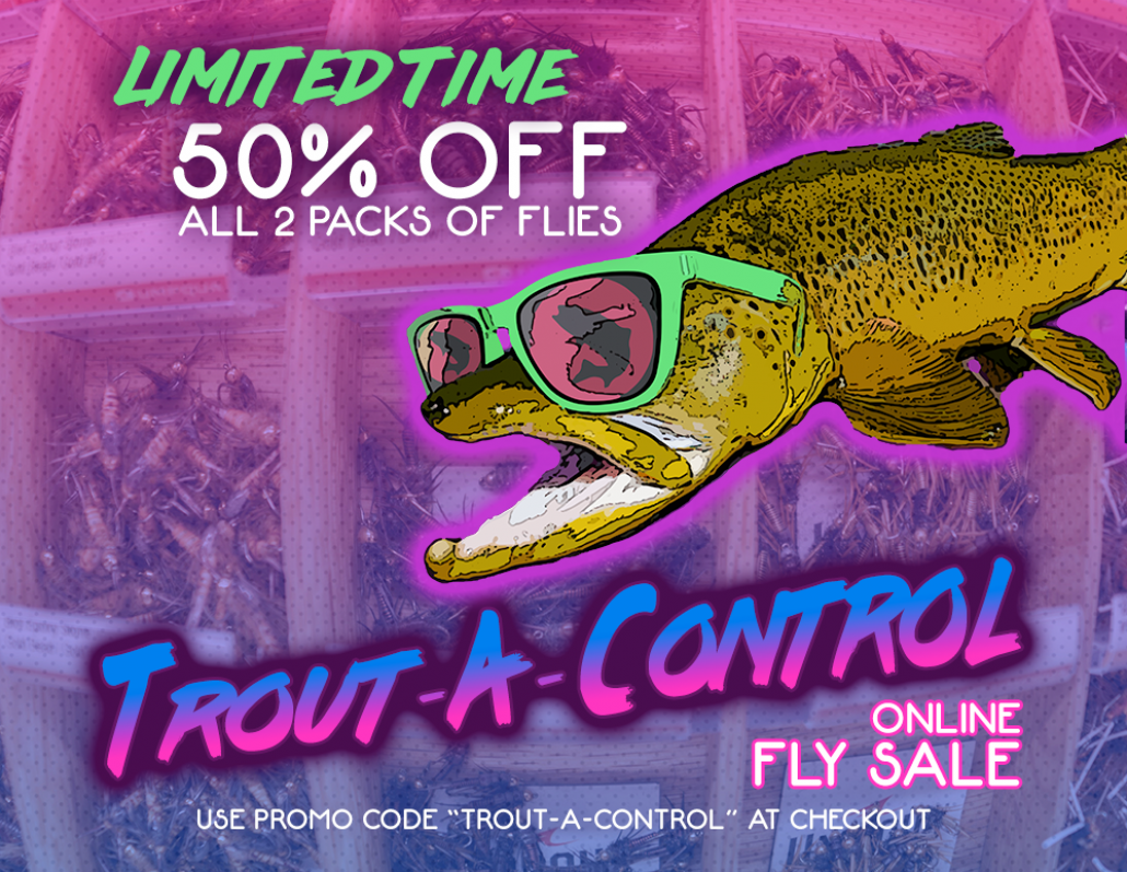 Trouts Fly Fishing | 50% OFF 2 Pack Flies - That's Trout-A